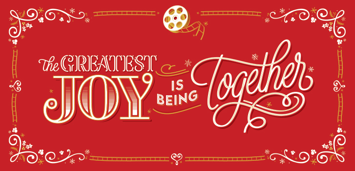 Our new holiday video reminds us that the greatest joy over the holidays is being together