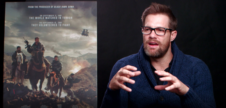 Geoff Stults talks his new film 12 Strong