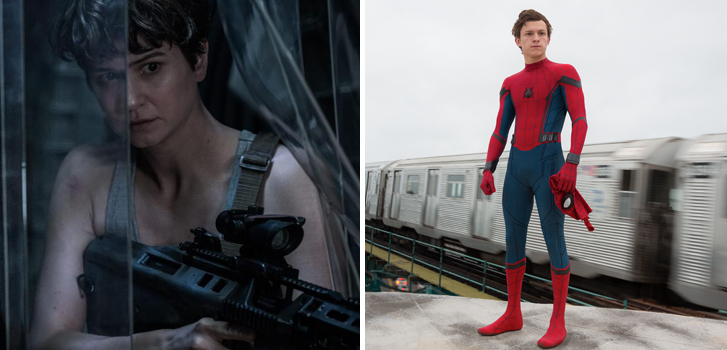 Alien: Covenant, Spider-Man:Homecoming and more of our most anticipated 2017 titles in one epic supercut!