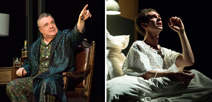 nathan lane, andrew garfield, angels in america, national theatre live, play, stage,