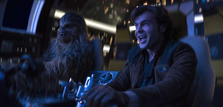 Alden Ehrenreich on studying Harrison Ford for his role as Han in Solo: A Star Wars Story