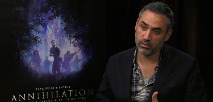 Writer/Director Alex Garland talks Annihilation in our interview