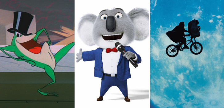 Sing, E.T., and a special Looney Tunes presentation in our April Family Favourites!