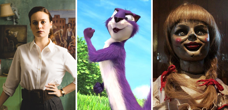 The Glass Castle, The Nut Job 2 and Annabelle: Creation top Tanner's What to Watch weekend preview