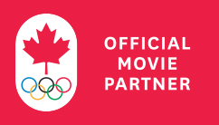 Canadian Olympics 2014 Official Movie Partner