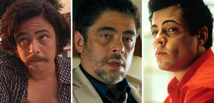 benicio del toro, sicario: day of the soldado, fear and loathing in las vegas, sicario, the usual suspects,