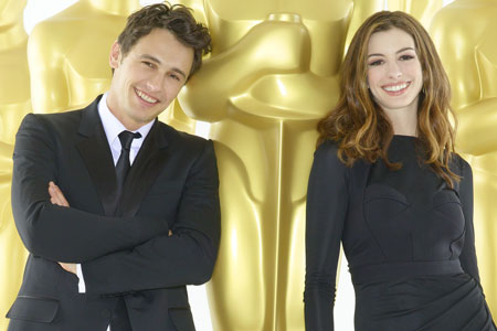 Oscar Hosts James Franco and Anne Hathaway