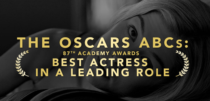 The 2015 Oscars ABCs (Arquette, Birdman, Cumberbatch): Best Actress