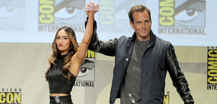 Megan Fox, Will Arnett, Comic-Con, photo