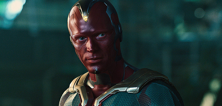 Age of Ultron's Vision is born in exclusive behind the scenes featurette