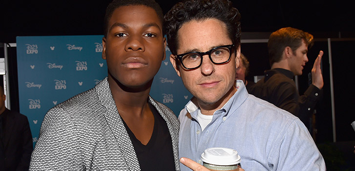 John Boyega gets a lightsaber in new The Force Awakens footage