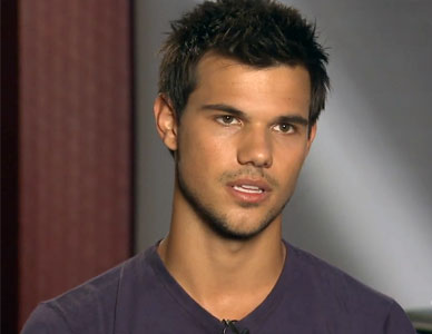 Taylor Lautner talks Breaking Dawn finale and fans