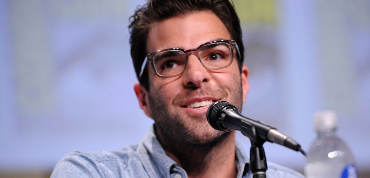 Zahary Quinto, Comic-Con, photo