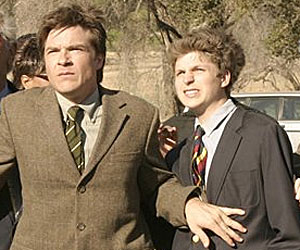 Jason Bateman and Michael Cera in Arrested Development