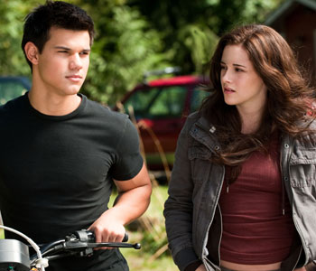 Jacob and Bella in Eclipse