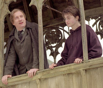 Remus Lupin and Harry Potter