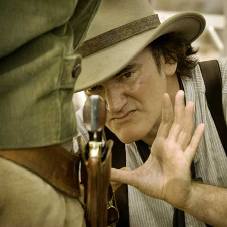 Sitting down with the man: Quentin Tarantino on Django Unchained