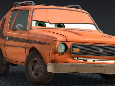 Grem from Cars 2