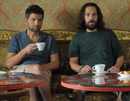 Our Idiot Brother - Adam Scott and Paul Rudd