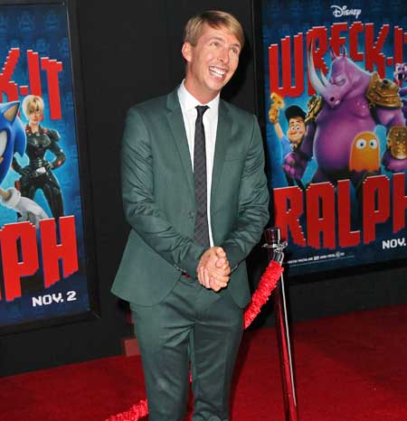 Talking Wreck-It Ralph with nice guy Jack McBrayer