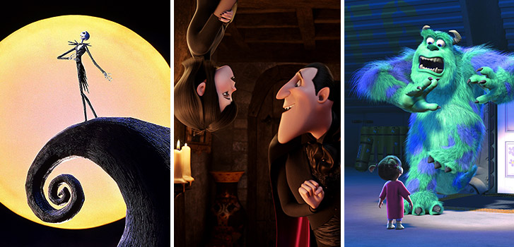 monstrous animation from monsters inc to hotel transylvania - Adam Sandler Christmas
