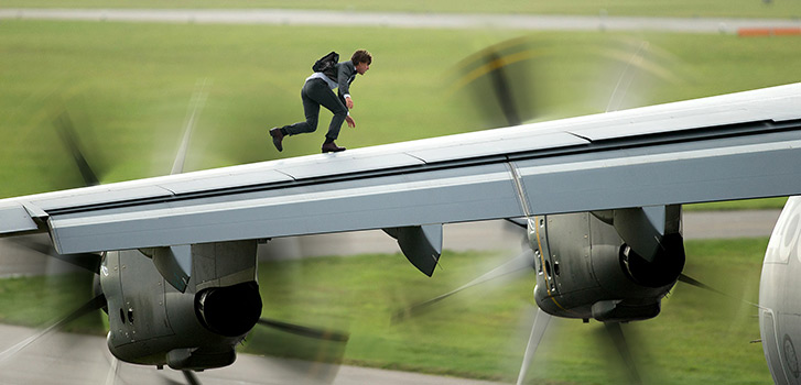 Tom Cruise, Mission: Impossible - Rogue Nation, photo