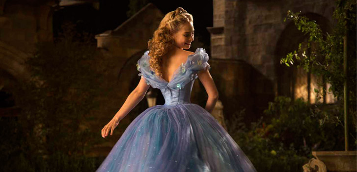 Lily James, Cinderella, photo