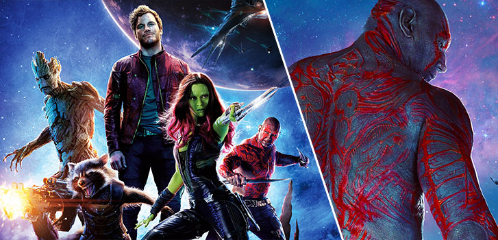 Guardians' Dave Bautista on Drax, comics, and the other Marvel hero he'd want to be