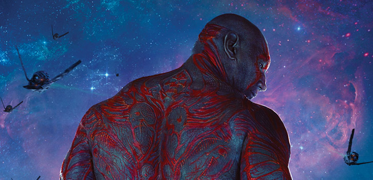 Dave Bautista in Guardians of the Galaxy