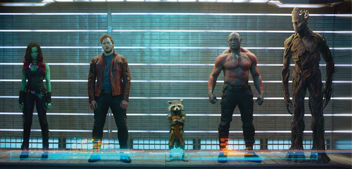 Guardians of the Galaxy, photo
