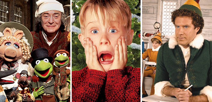 Smiling's My Favourite: All your favourite holiday movies in one supercut