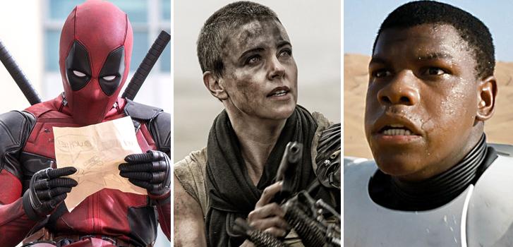 deadpool, ryan reynolds, mad max fury road, charlize theron, star wars the force awakens, john boyega, mtv movie awards, image