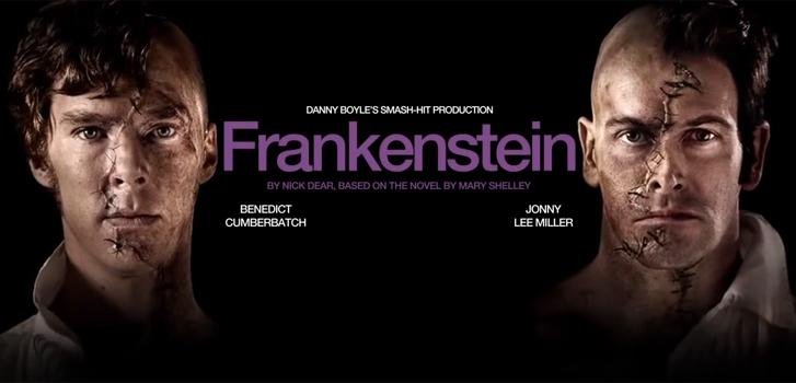 Frankenstein Benedict Cumberbatch Jonny Lee Miller, photo