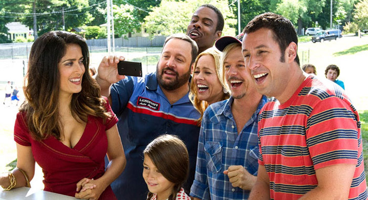Grown Ups 2 leads the Razzie nominations