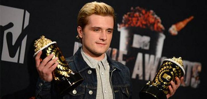 Josh Hutcherson at the MTV Movie Awards, photo