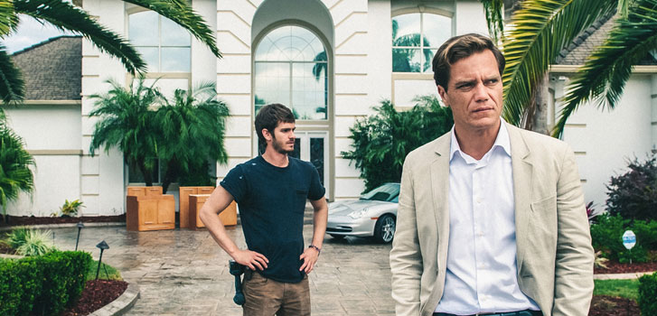 Andrew Garfield, Michael Shannon, 99 Homes, interview, photo