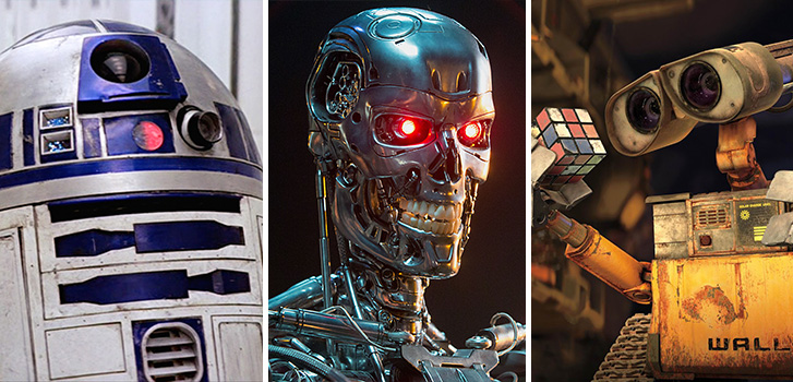 Top 10 movie robots of all-time