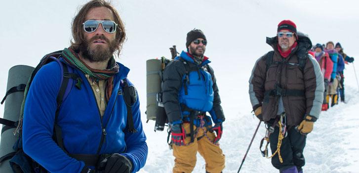 Jake Gyllenhaal, Josh Brolin, Everest, photo