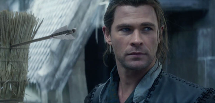 Chris Hemsworth, The HUntsman: Winter's War, photo