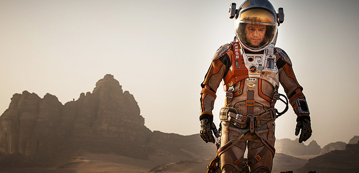 Matt Damon, The Martian, photo, TIFF