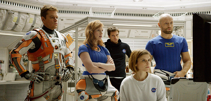 The Martian, photo
