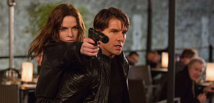 INTERVIEW: Mission: Impossible - Rogue Nation's Rebecca Ferguson and Simon Pegg on the most impossible mission yet