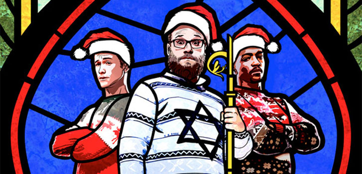 Seth Rogen and his bros live it up one last time in the red-band trailer for The Night Before