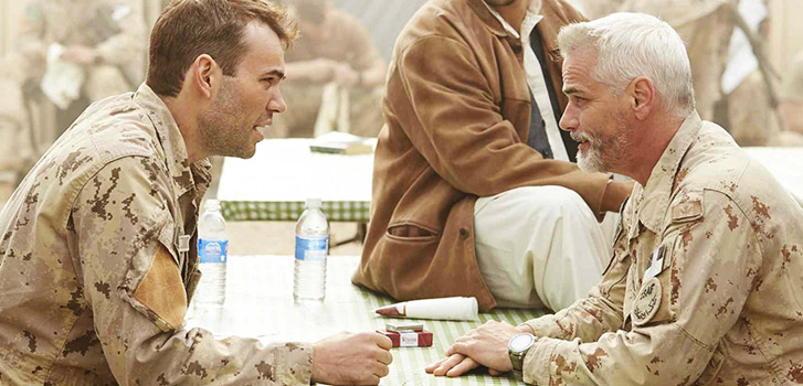 Paul Gross goes down Hyena Road in exclusive trailer for Canadian war drama