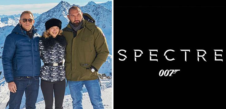 James Bond, SPECTRE, photo