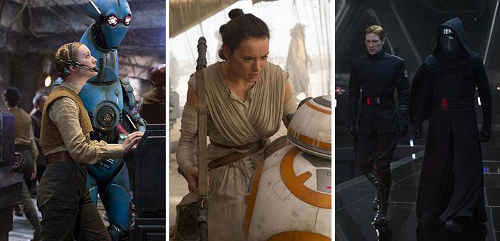 daisy ridley, domnhall gleeson, adam driver, the force awakens, star wars, image