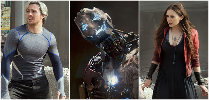 Quicksilver, Ultron, Scarlet Witch, Avengers, photo