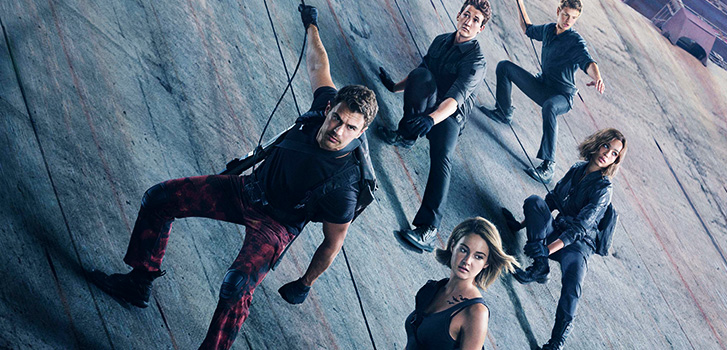 Theo james, Shailene Woodley, Miles Teller, The DIvergent Series: Allegiant, photo