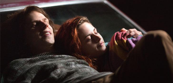 Jesse Eisenberg, Kristen Stewart, American Ultra, photo