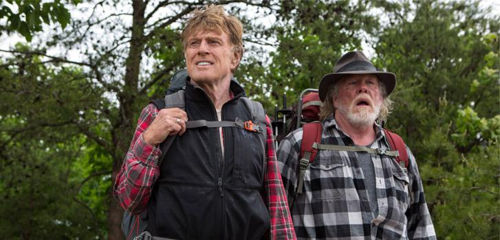Robert Redford, Nick Nolte, A Walk in teh Woods, Sundance, photo